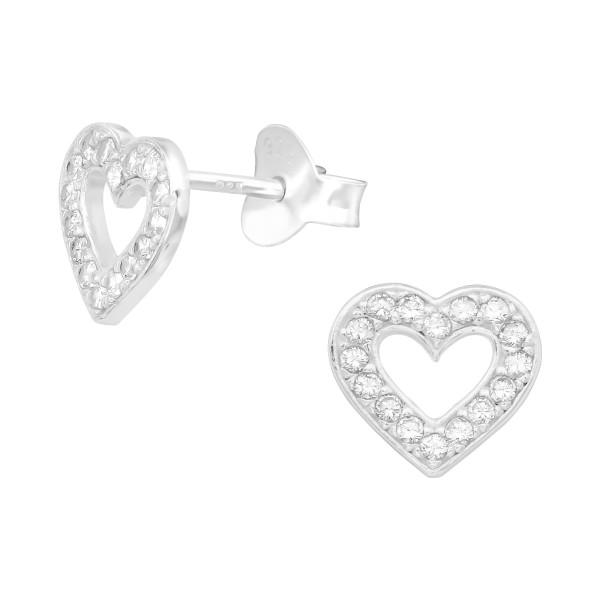 Cubic Zirconia Ear Studs ES-JB10405/39930