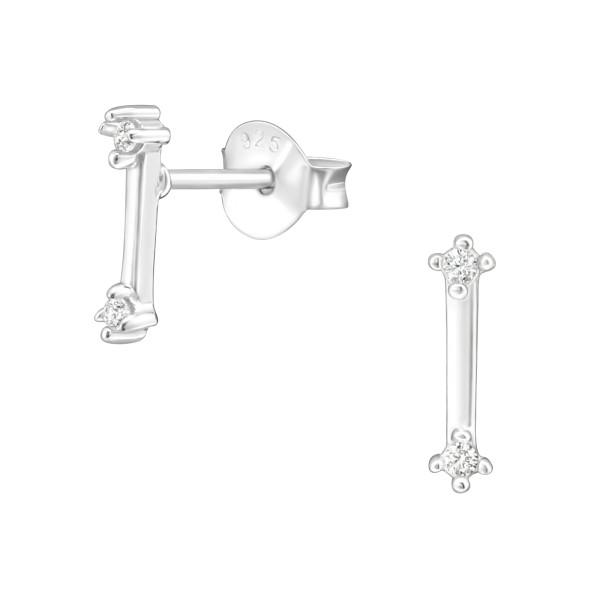 Cubic Zirconia Ear Studs ES-JB11195/36805