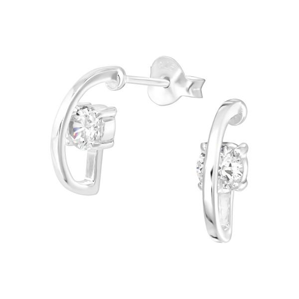 Cubic Zirconia Ear Studs ES-JB11507/36671