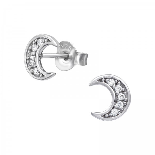 Cubic Zirconia Ear Studs ES-JB11658 RP/39050