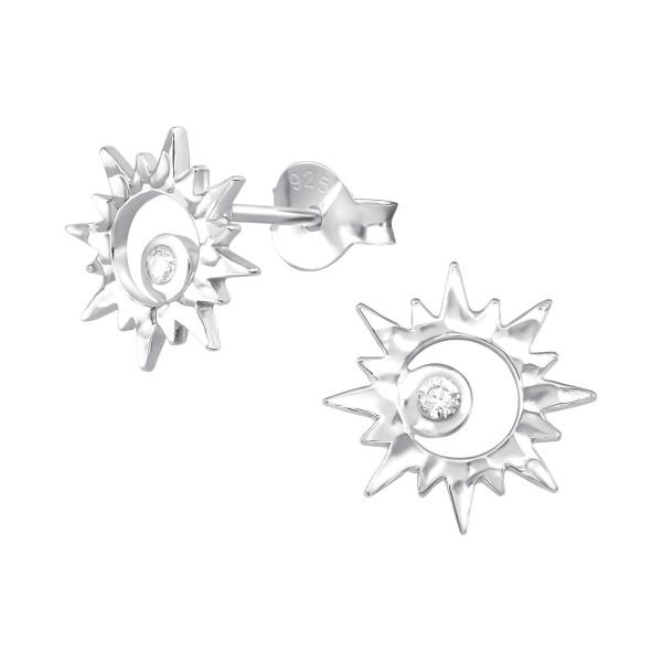 Cubic Zirconia Ear Studs ES-JB11756/37193