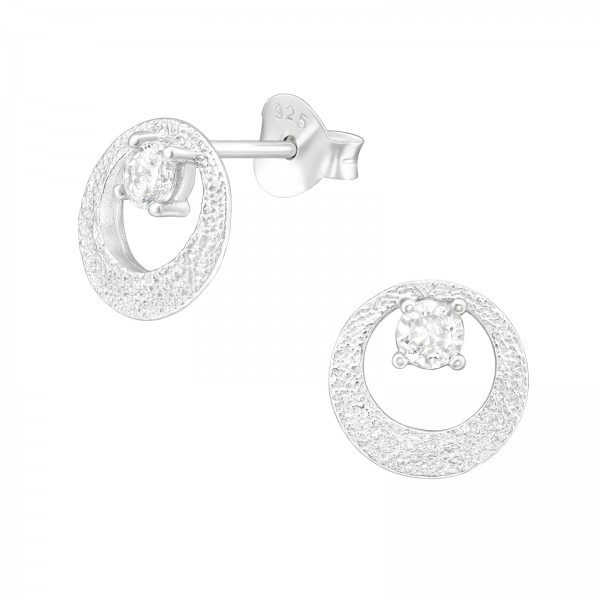 Cubic Zirconia Ear Studs ES-JB12310/38813