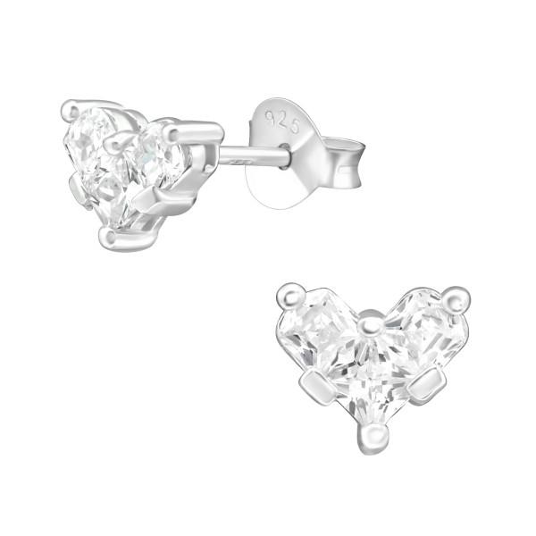 Cubic Zirconia Ear Studs ES-JB12324/38421