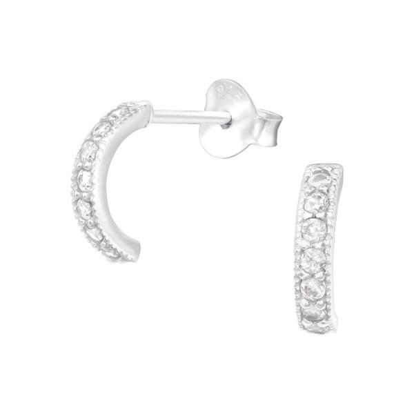 Cubic Zirconia Ear Studs ES-JB12330/40098