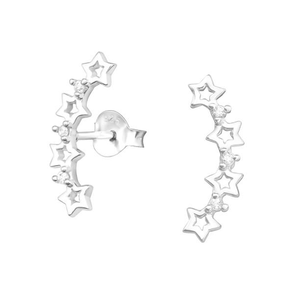 Cubic Zirconia Ear Studs ES-JB12391/37913