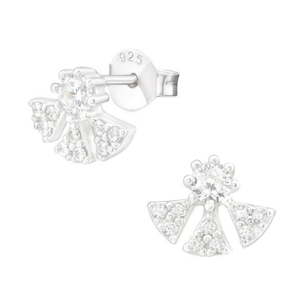 Cubic Zirconia Ear Studs ES-JB12540/38821