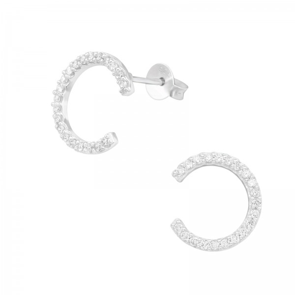 Cubic Zirconia Ear Studs ES-JB12730/39869