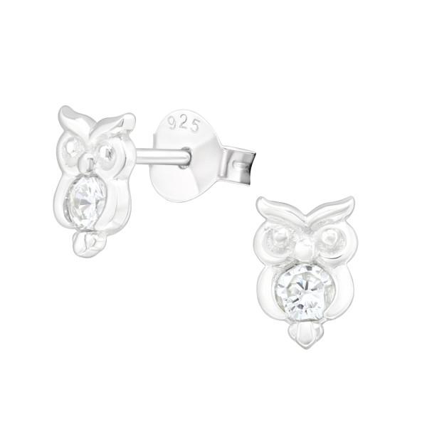 Cubic Zirconia Ear Studs ES-JB12829/40115
