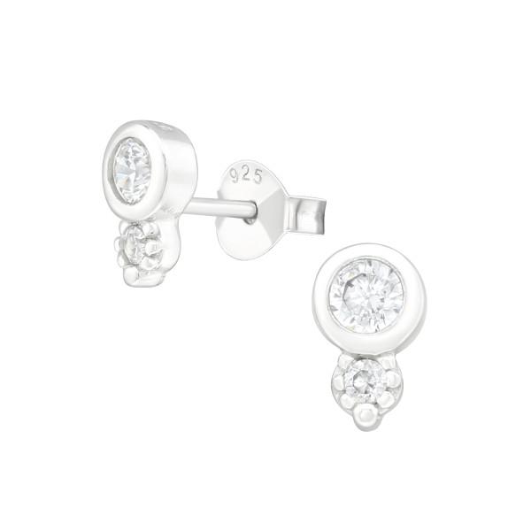 Cubic Zirconia Ear Studs ES-JB12957/38839