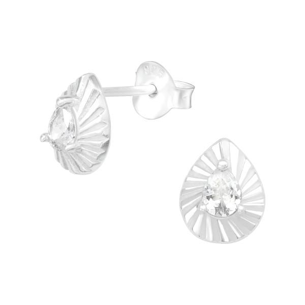 Cubic Zirconia Ear Studs ES-JB13146/40140