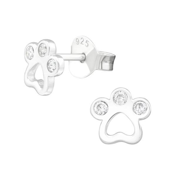 Cubic Zirconia Ear Studs ES-JB13329/40045