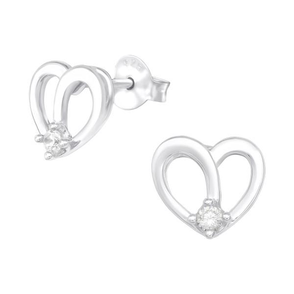 Cubic Zirconia Ear Studs ES-JB13370/40054
