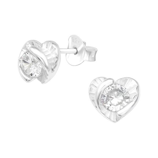 Cubic Zirconia Ear Studs ES-JB13592/40086