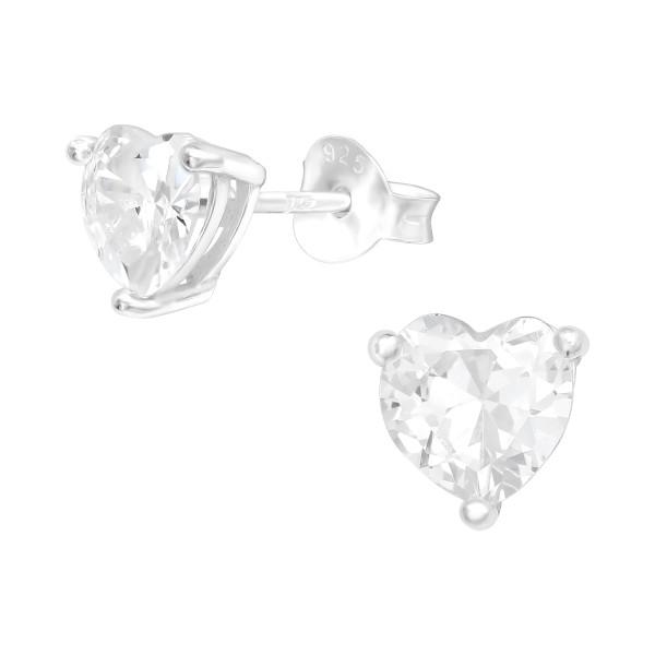 Cubic Zirconia Ear Studs ES-JB13693/40065