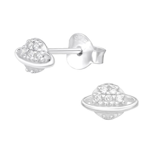 Cubic Zirconia Ear Studs ES-JB13871/40102