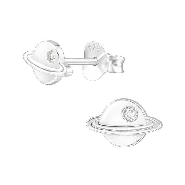 Cubic Zirconia Ear Studs ES-JB13888/40106