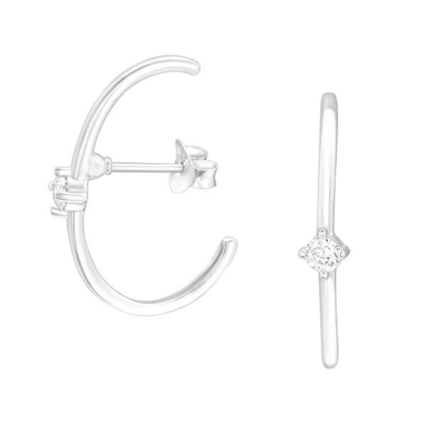 Cubic Zirconia Ear Studs ES-JB13955/40368