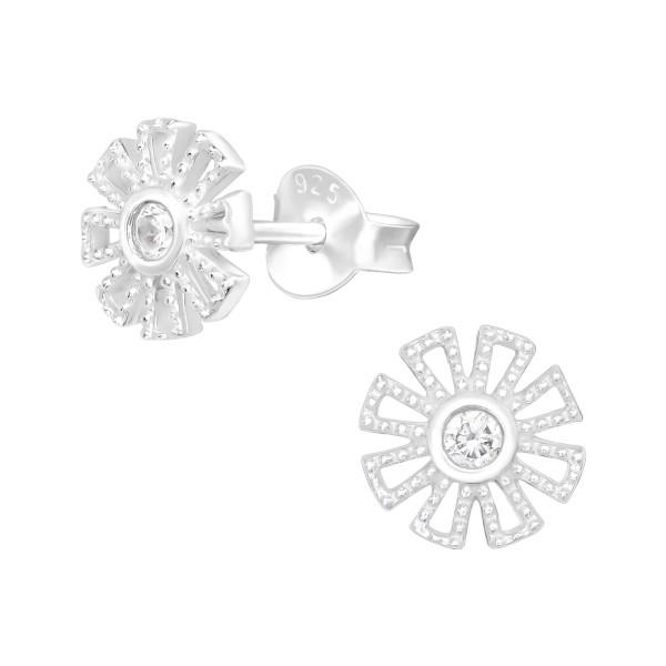 Cubic Zirconia Ear Studs ES-JB14331/40492