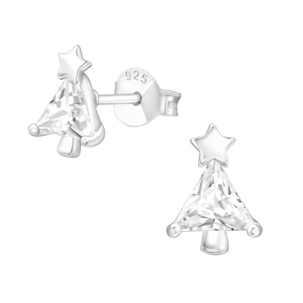 Cubic Zirconia Ear Studs ES-JB14536/40554