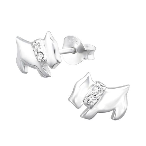 Cubic Zirconia Ear Studs ES-JB1860/13912