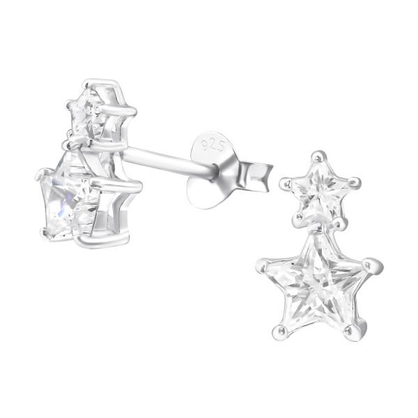 Cubic Zirconia Ear Studs ES-JB2855/24731