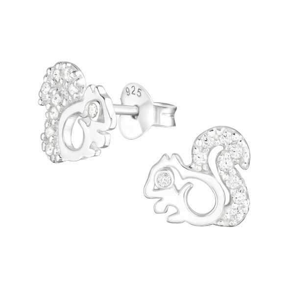 Cubic Zirconia Ear Studs ES-JB6522/22481