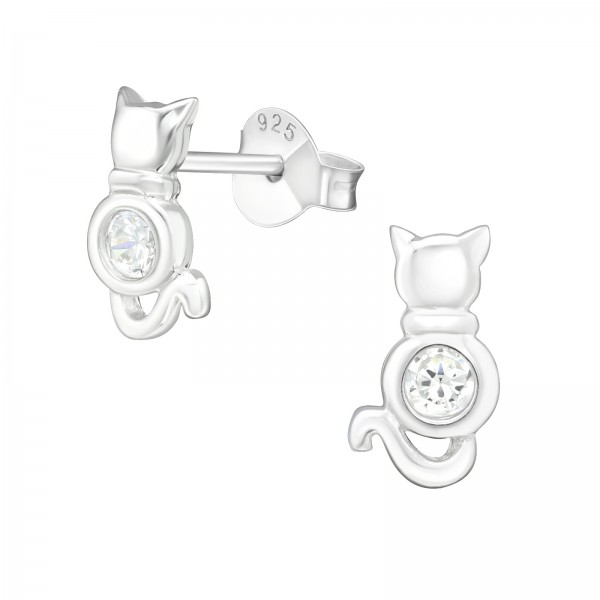 Cubic Zirconia Ear Studs ES-JB7172/22000