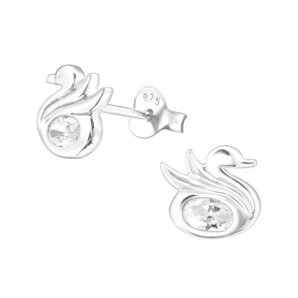 Cubic Zirconia Ear Studs ES-JB7178/22197