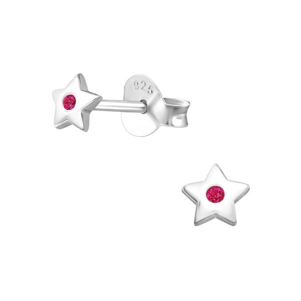 Cubic Zirconia Ear Studs ES-JB7304-B/27236