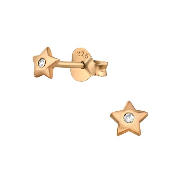Cubic Zirconia Ear Studs ES-JB7304 RGP/40665