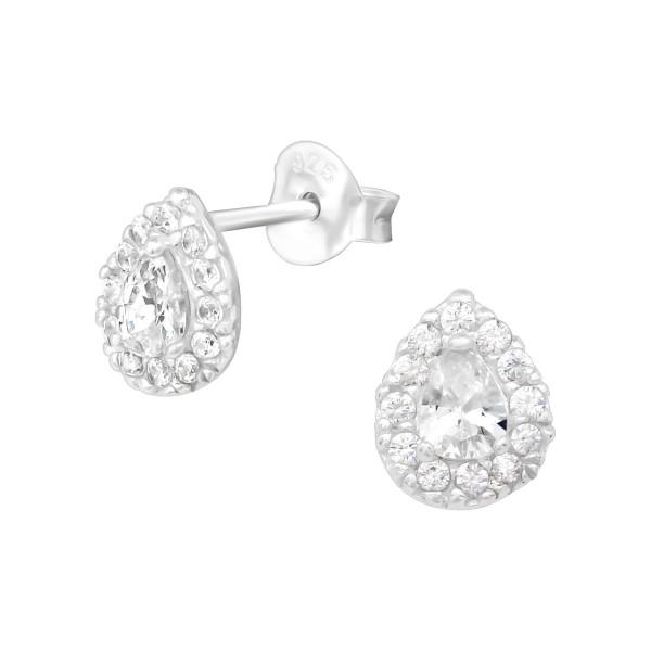 Cubic Zirconia Ear Studs ES-JB8666/39301