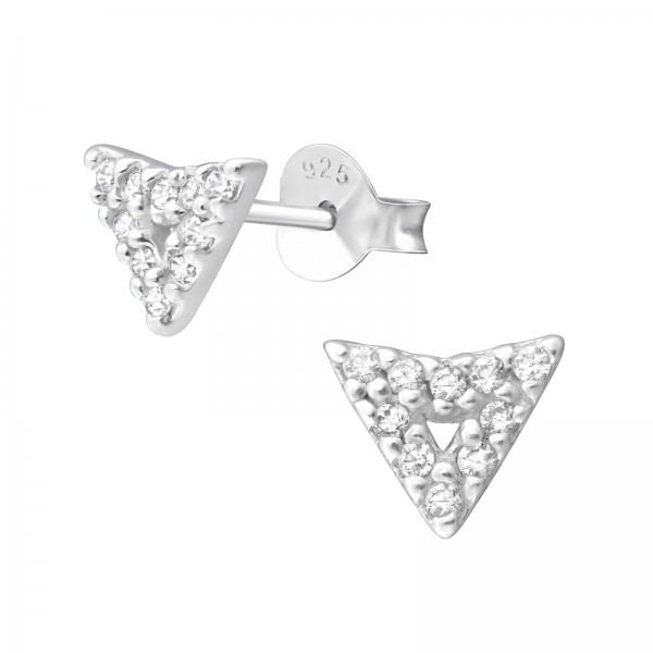 Cubic Zirconia Ear Studs ES-JB8667/36644
