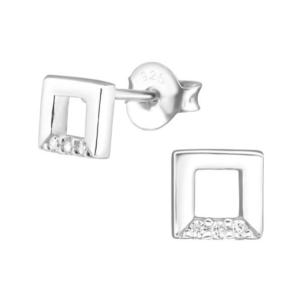 Cubic Zirconia Ear Studs ES-JB9029/30933