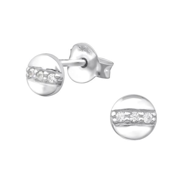 Cubic Zirconia Ear Studs ES-JB9040/35205