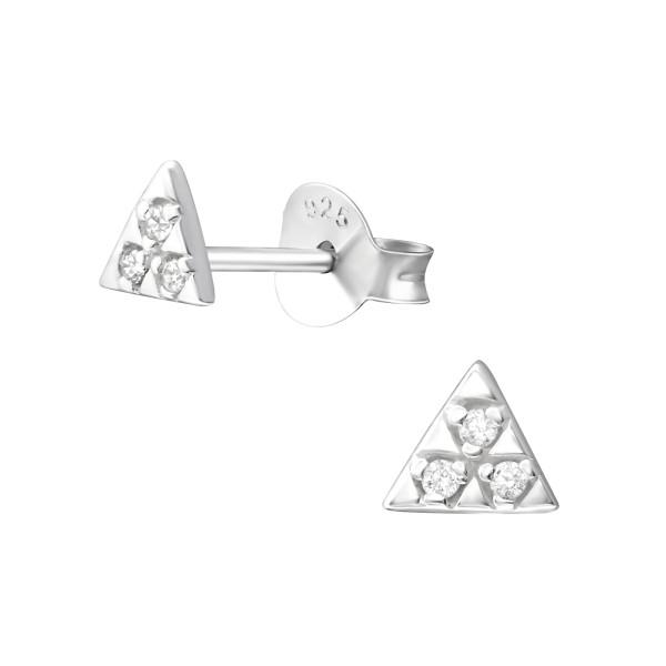 Cubic Zirconia Ear Studs ES-JB9041/37338
