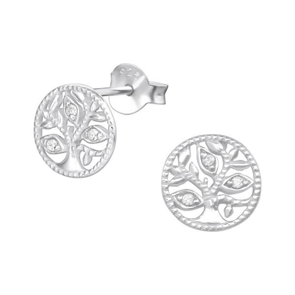 Cubic Zirconia Ear Studs ES-JB9591/35079