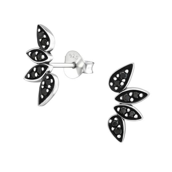 Cubic Zirconia Ear Studs ES-JB9688 OX/37213