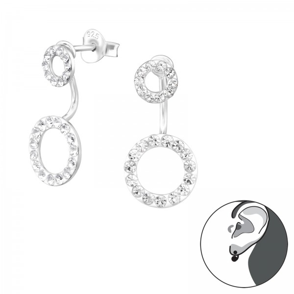 Ear Jackets & Double Earrings CC-APS1422-APS2511-APS1577/38304