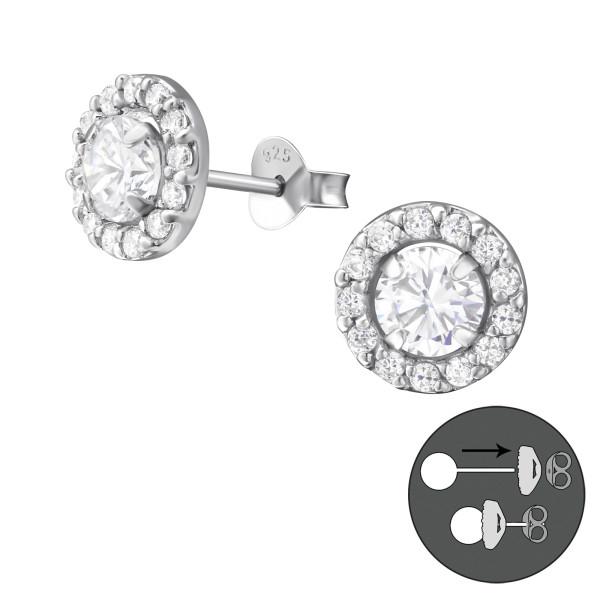 Ear Jackets & Double Earrings CESR-5-JB6769 RP/37762