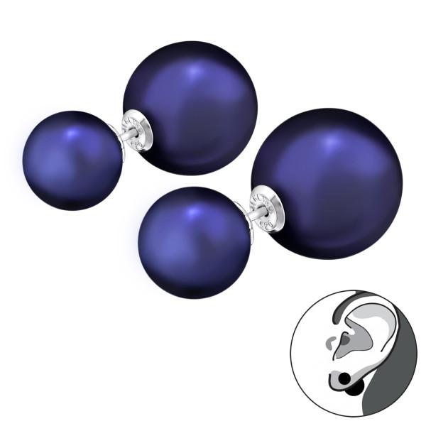 Ear Jackets & Double Earrings DE-APS1807-P10-P14/29592