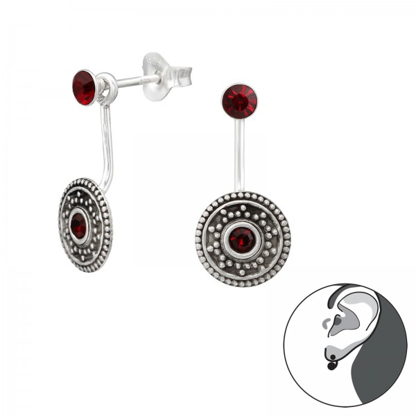 Ear Jackets & Double Earrings ES-04-APS2511-APS2771 OX/35436
