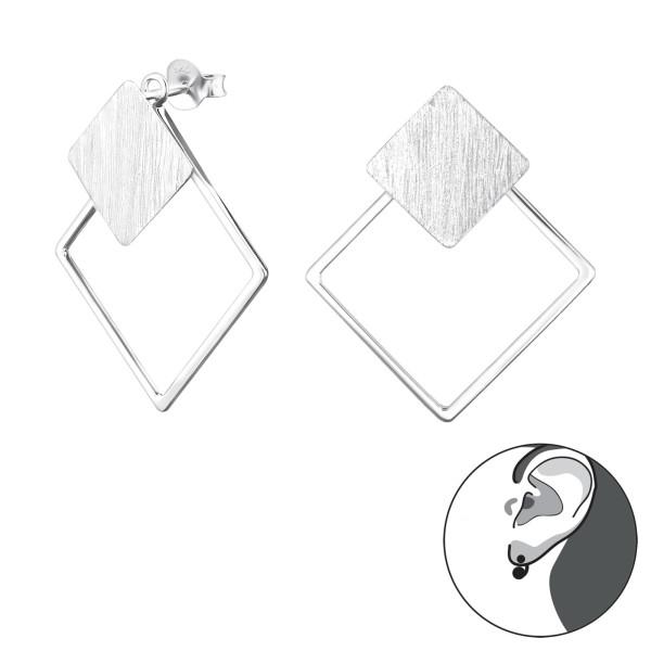 Ear Jackets & Double Earrings ES-APS2526-BR-APS2515/29141