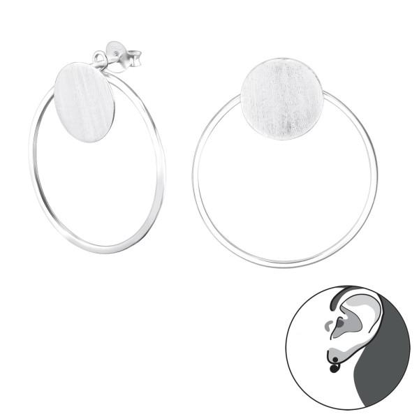 Ear Jackets & Double Earrings ES-APS2548-APS2516/29142