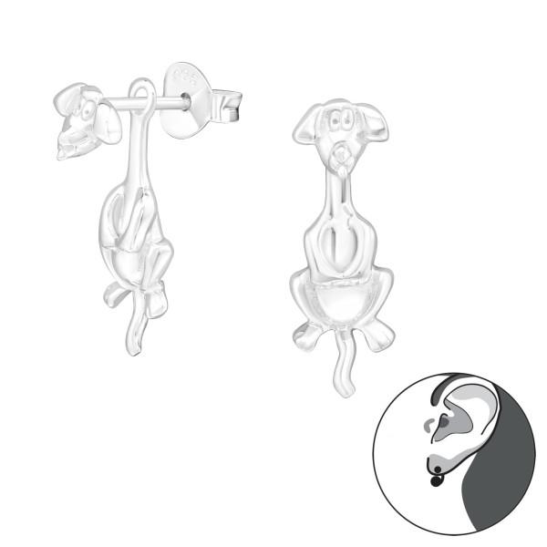 Ear Jackets & Double Earrings ES-JB7746/24268