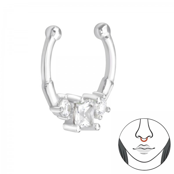 Nose Studs & Clips NC-JB11808 CRY/39433