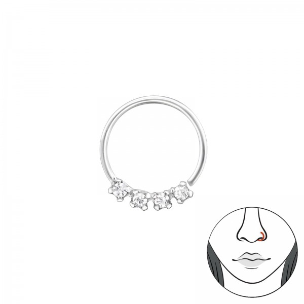 Nose Studs & Clips NR-HP10-4C/34609