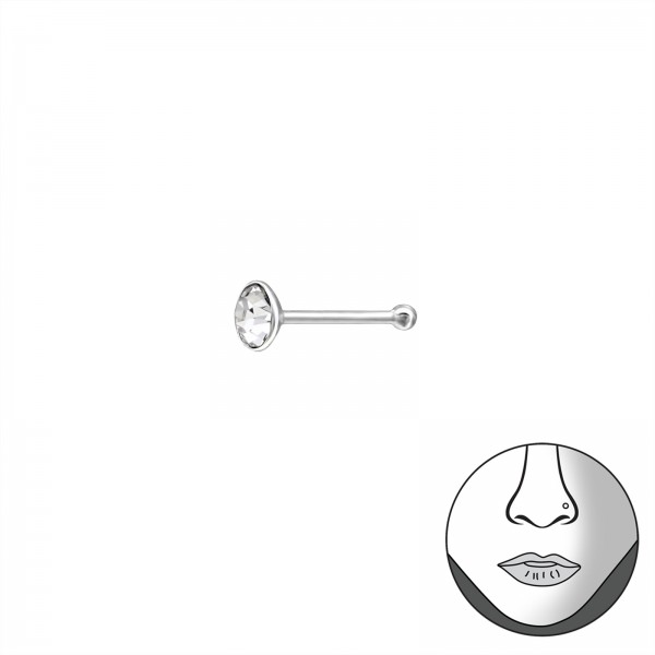 Nose Studs & Clips NS-003-PP15 BALL/37466