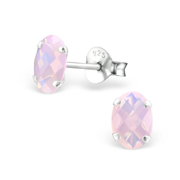 Opal and Semi Precious Ear Studs CESOV-5X7-NNOP/27983