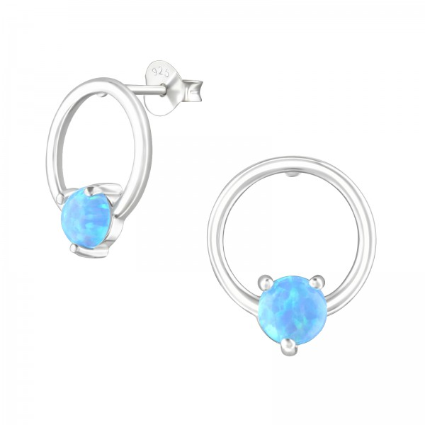 Opal and Semi Precious Ear Studs ES-JB11369/36794