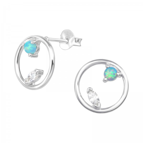 Opal and Semi Precious Ear Studs ES-JB11372/36795